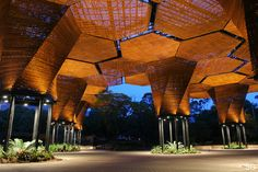 Built by Plan B Architects + JPRCR Architects in Medellin, Colombia with date 2006. Images by Sergio Gómez (SG). a. Architecture and organisms   The Construction of a Orchideorama should come up of the relation between architectur...