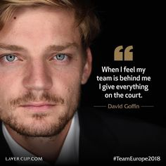 His team record is impressive so when will Team Europe captain Bjorn Borg field lethal at The Day 1 schedule… David Goffin, Bjorn Borg, Thats Not My, Europe, Feelings, Schedule, Nice Asses