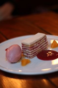 can you believe it's raw?! strawberry shortcake napoleon