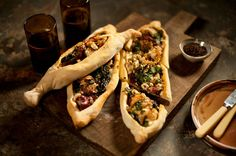 Prawn and feta pide - Shane delia spice journey turkey
