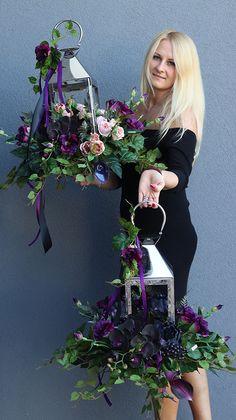Funeral Flower Arrangements, Funeral Flowers, Floral Arrangements, Wedding Lanterns, Lanterns Decor, Rustic Centerpieces, Christmas Centerpieces, Grave Decorations, Flower Decorations