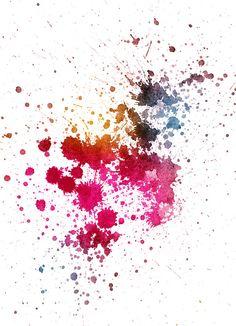 Ink by ~oriontrail on deviantART Paint Splatter Tattoo, Watercolor Splatter, Ink Splatter, Watercolor Texture, Watercolor Art, Wallpaper Backgrounds, Iphone Wallpaper, Wallpapers, Splash Images