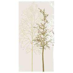 Porcel-Thin PARIS off white 120x60cm thin porcelain tile with tree pattern style.  #porcelain #tiles #trees