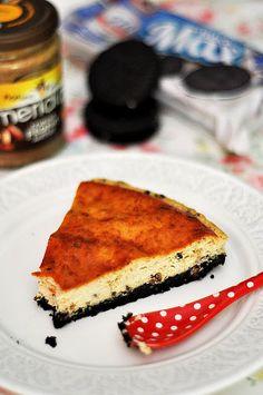 OBSESIÓN CUPCAKE: Cheesecake Fit de Mantequilla de Cacahuete y Chocolate