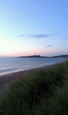 Dawn at Dunstanburgh Castle by subtle sensor