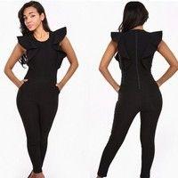 2014 nueva moda vendaje bodycon monos de club de noche fiesta mujer traje de celebridades clubwear vestido ropa np1430-ZC1447