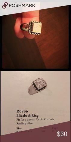 Silpada ring R0836 Silver Elizabeth ring Silpada Jewelry Rings