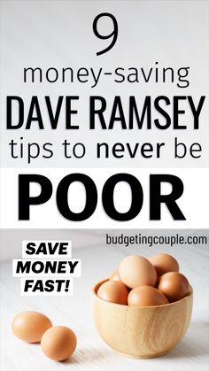 Best Money Saving Tips, Saving Money, Money Savers, Money Tips, Dave Ramsey, Frugal Tips, Frugal Living Tips, Save Money On Groceries, Groceries Budget