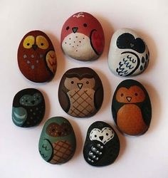Owl Rocks | 32 Awesome Things To Make With Nature