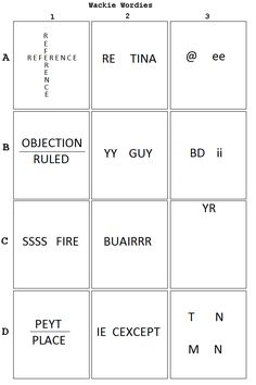 Printables Wacky Wordies Worksheets wacky wordies word puzzles words activities and the ojays wackie 3 fun httpwww pleacher