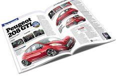 Peugeot 208 GTi... koncept gradske jurilice. On nije uskrsnuli 205 GTi, ali je napravljen kako bi ponovno oživio njegov duh i uzdigao se iznad ostatka ponude. Nije loš, zar ne? :)