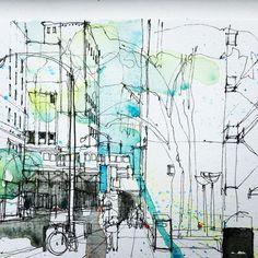 Simone Ridyard (@simoneridyard) в Instagram: #aquarell #art #painting #watercolor #sketch  #paint  #drawing #sketching #sketchbook #travelbook #archisketcher #sketchaday #sketchwalker #sketchcollector #artbook #artjournal #traveldiary #topcreator #usk #urbansketchers #urbansketch #скетчбук #скетч #скетчинг #pleinair #aquarelle #watercolorsketch #usk #architecture #topcreator