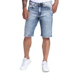 Bermuda Masculina Jeans Justa - Damyller