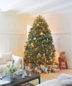 50 of house homes best christmas trees