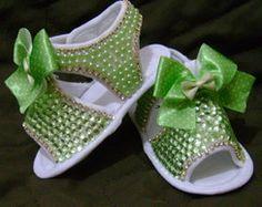 Sandalia Bebe Verde