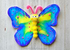 How to Make a Gorgeous Butterfly Craft | I Heart Crafty Things