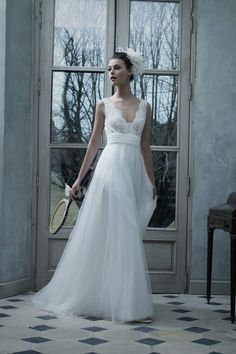 Cymbeline is one of the many bridal designers we showcase in our boutique. Please visit our bridal boutique Mirror Mirror in London to view full collection. French Wedding Dress, Boho Wedding Gown, Bridal Gowns, Dream Wedding, Wedding Dresses Under 100, Designer Wedding Dresses, Cymbeline Wedding Dresses, Happy Brautmoden, Bridal Collection