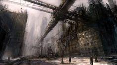 Futuristic Dystopia Wallpaper via http://wallpoper.com