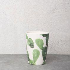 UNC bamboe beker cactus