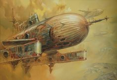 Extraordinary Paintings of Travel Vehicles by Jaroslaw Jasnikowski (13)