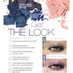 Get the Look: It's All About the Eyes.  JAFRA Cosmetics' colorful eye how-to.