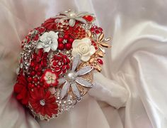 Strawberries and Cream Bouquet #broochbouquets