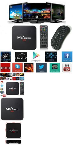 Cable TV Boxes: Mxq Pro 4K S905 Android Smart Tv Box Quad Core 1G+8G Wifi Sport + Air Mouse -> BUY IT NOW ONLY: $48.43 on eBay!
