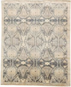 Blue And Grey Multan Rug With Border Intricate designs and an antique-like appeal define this beautifully crafted Multan rug. Natural Area Rugs, Grey Rugs, Rugs Online, Shopping Sites, Hand Knotted Rugs, Rug Making, Floor Rugs, Oriental Rug, Beautiful Hands