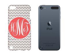 Monogram iPod 5 Case Chevron, Monogram iPod 5