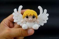 kleinen Amigurumi Engel häkeln