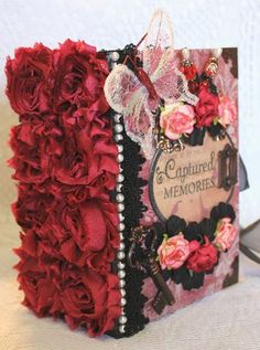 """Beautiful """"Once Upon a Time"""" handmade album."""