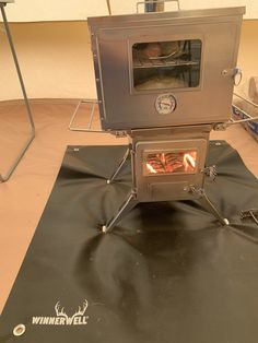 Winnerwell Nomad Wood Burning Camping Cooker & Stove - Review