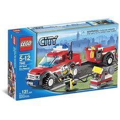 Lego City Off-Road Fire Truck Set, Multicolor