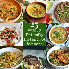 A collection of Gluten-Free Instant Pot dinners that the whole family will love!Plenty of Paleo, Vegan, and Whole30 recipes that can all be made in your Instant Pot! *This post has been updated to include 5 new Instant Pot recipes! Because 30 is better than 25, right?? Perhaps the Instant Pot was one of the...Read More »