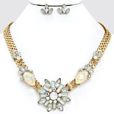 Grace Necklace in Soft Champagne