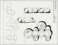 Laboratoire Urbanisme Insurrectionnel: Architecture Mobile Mini Cabins, Future Vision, Color Plan, Site Analysis, Minimal Home, Visual Communication, Art And Architecture, Bubbles, Concept
