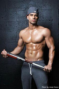 Darian Alvarez: La Belleza Del Hombre. Hot Fitness Model. Jorge Freire Fotos