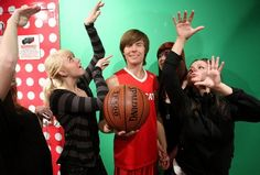 Zac Efron Wax Figure Unveiling At Madame Tussauds