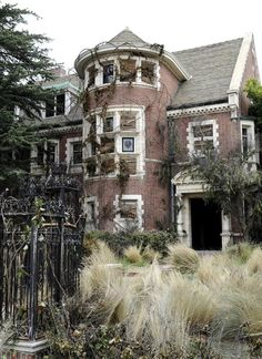 The house used in season one of the TV show 'American Horror Story'.