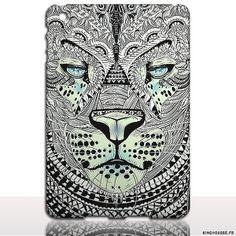 iPad Air 2 - Coque Tigre Azteque - Housse rigide Apple iPad. #coque #ipad #air #2 #tigre #azteque