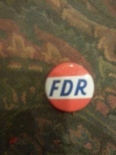 FDR button
