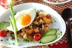 ナシゴレンのレシピ・作り方 - 簡単プロの料理レシピ | E・レシピ