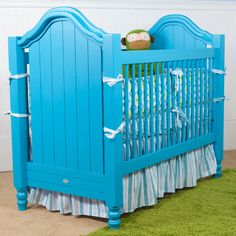 Bahama Blue finish - beautiful! For our next I want to do this instead of buying new