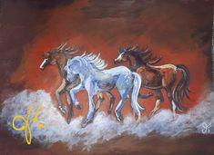 Twins, Moose Art, Thankful, Canada, Artist, Artwork, Painting, Animals, 3 Friends