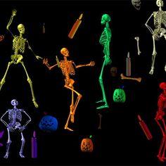 prepare for the skeleton war | A Halloween playlist for battle