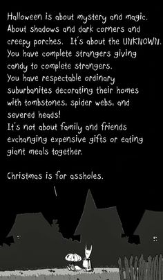 christmas is for assholes