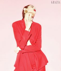 Pink + Red - 그라치아:오늘의 패션