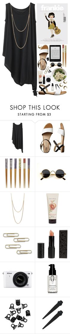 """""""BASIC SPACE"""" by hannah-gw-martin ❤ liked on Polyvore featuring Y's by Yohji Yamamoto, Gap, Covo, Club Manhattan, Crabtree & Evelyn, Topshop, Nikon, Bobbi Brown Cosmetics and H&M"""