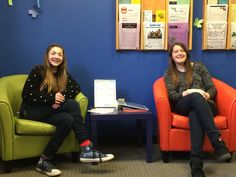 Thanks to teen volunteers Anna & Amy for decorating the Teen Room for April!