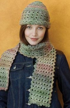 "Free pattern for ""Chic Crochet Cloche & Scarf""!"